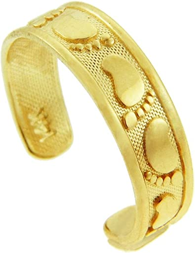 10K Gold Yellow Gold Toe Ring
