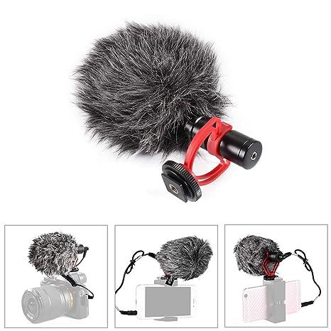 Tutmonda Micrófono de Condensador Grabación micrófono Video ...