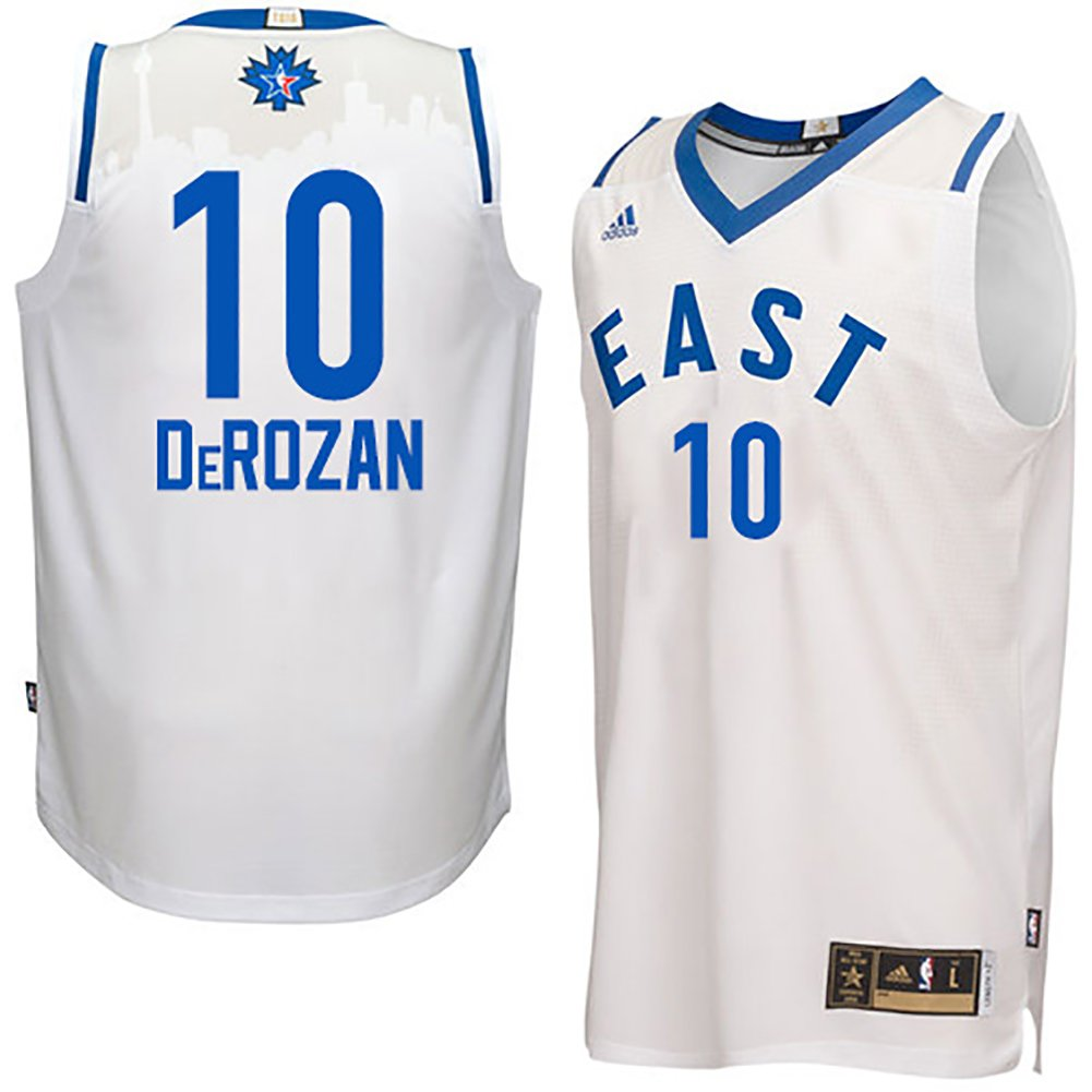 the best attitude 97bc9 bf0bd Amazon.com: Outerstuff DeMar DeRozan Eastern Conference 2016 ...