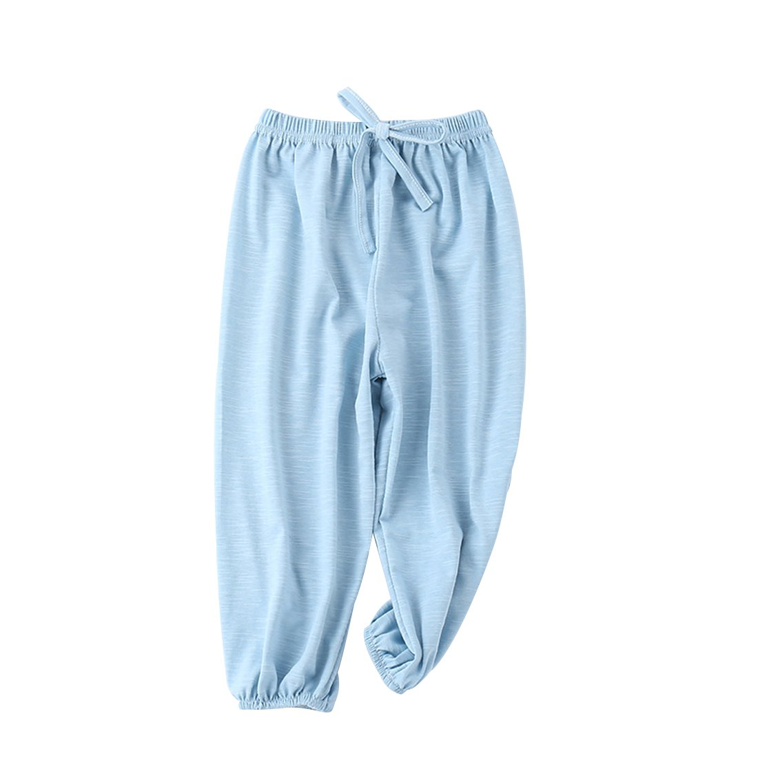 PAUBOLI Baby Long Bloomers Soft Slub Cotton Harem Pants for Boys Girls 12M-7T