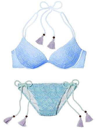 Amazon.com: Victoria s Secret Swim Set la Gorgeous Push Up ...