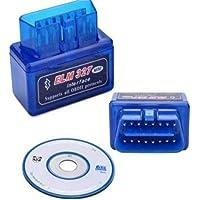 Diagnóstico del Coches Bluetooth Herramientas Coche - RFAIKA para PC y Android Escáner de Diagnóstico de Coche Wireless ELM.327 - Interfaz USB, Revisa el Motor de tu Auto, Problemas en el Chasis, Temperatura, Estado del Combustible, Códigos de Falla