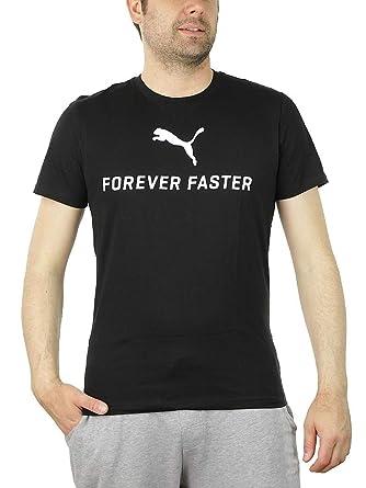 Tee T 610 01 Faster Puma 835301 Black Forever Men Shirt Bppo UMVpSz