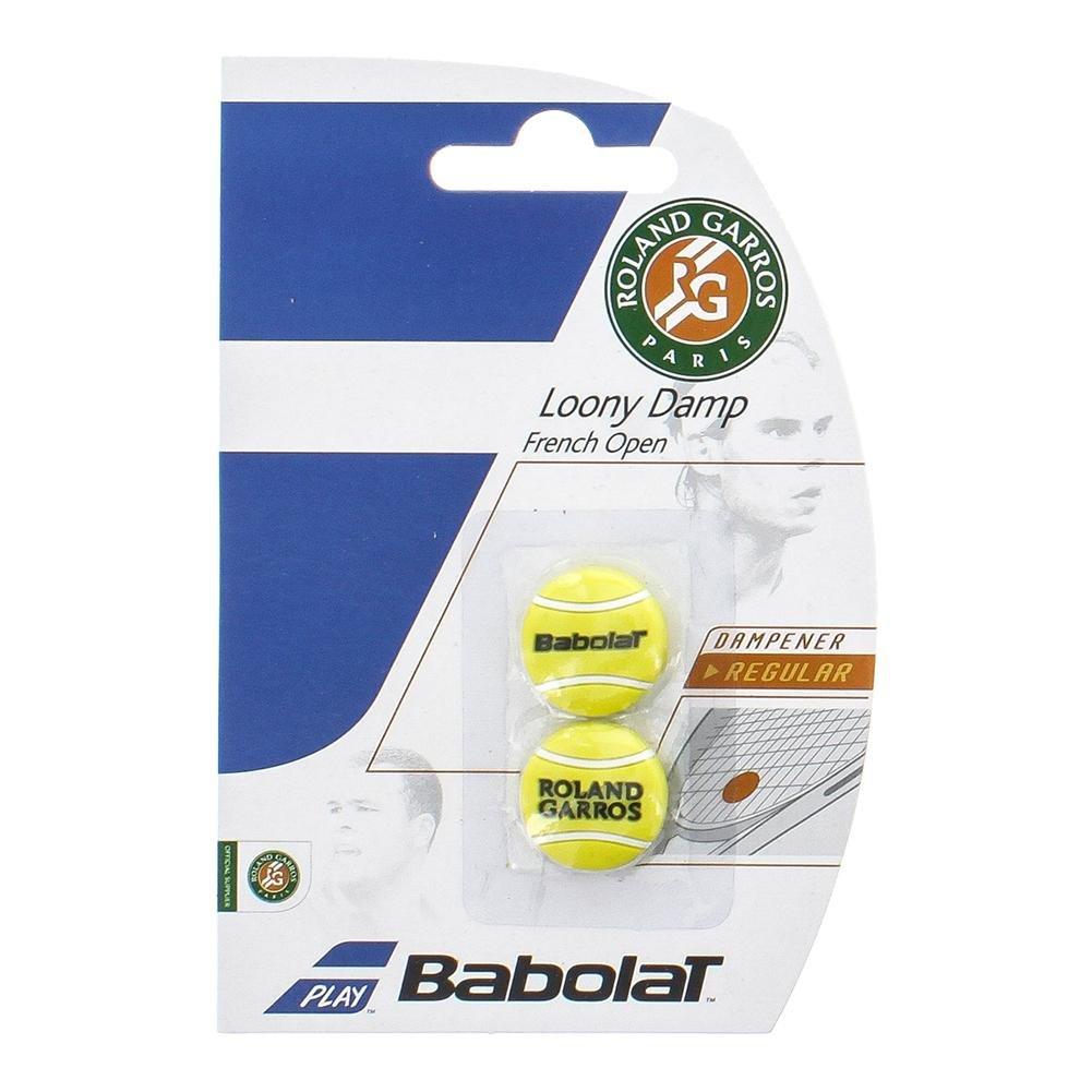 Babolat Loony Damp RG/FO X2 Ammortizzatori di Vibrazione, Unisex – Adulto, Giallo, Taglia Unica Unisex - Adulto 700036