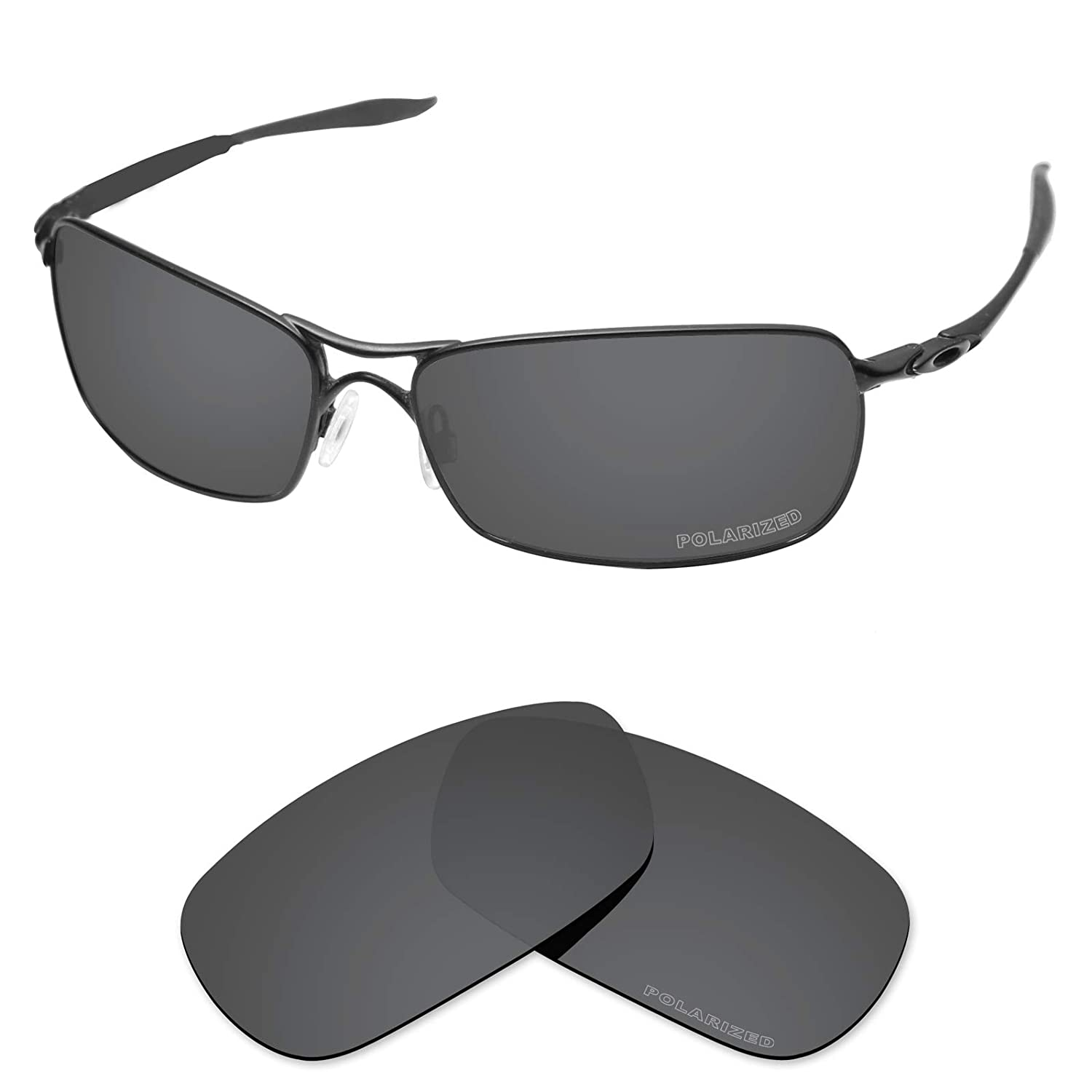 e6dd29753157a Amazon.com  Tintart Performance Lenses Compatible with Oakley Crosshair 2.0  Polarized Etched-Carbon Black  Clothing