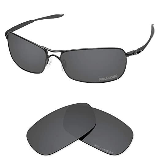 9c76ca5345 Tintart Performance Lenses Compatible with Oakley Crosshair 2.0 Polarized  Etched-Carbon Black
