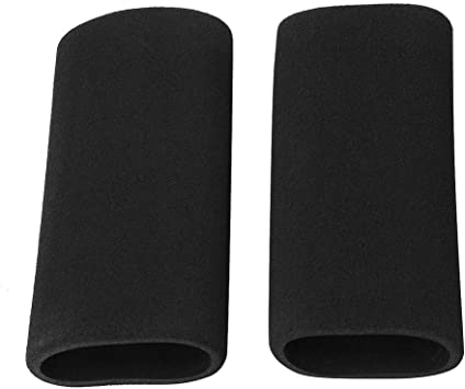 Motorbike Motorcycle Slip on Foam Anti Vibration Comfort Handlebar Grip Cover