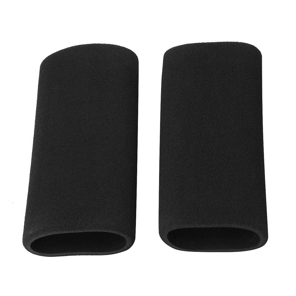 Color: Black MC402 to 1.45in OD Fits From 1.25in Grab On Grips Grip Cover 5in.L