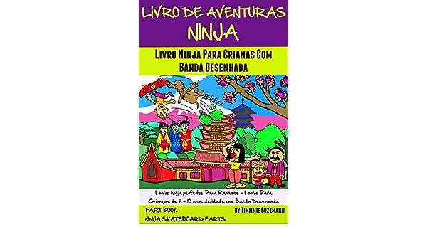 Amazon.com: Livro De Aventuras Ninja: Livro Ninja Para ...