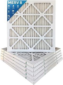 4pk AF MERV 11 Pleated AC Furnace Air Filter. 24 x 24 x 1