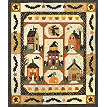 Sew Spooky Fall Autumn Halloween Town Witch Bat Set of 6 The Quilt Company Patterns