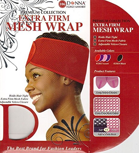 Donna Premium Collection Extra Firm Mesh Wrap Various Colors (Colour Mesh)