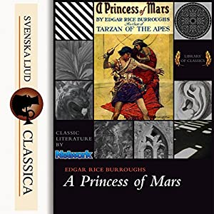A Princess of Mars (The Barsoom Series 1) Audiobook
