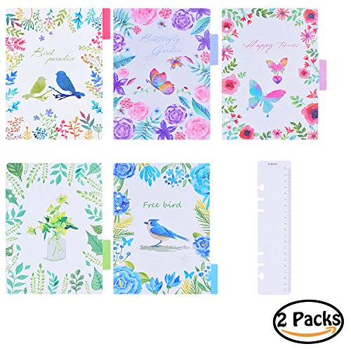 A5 Notebook With Dividers - 8