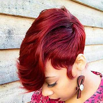 BeiSD Short Colored Hair Wigs for Black Women Short Hairstyles for Women  Newest Short Colorful...
