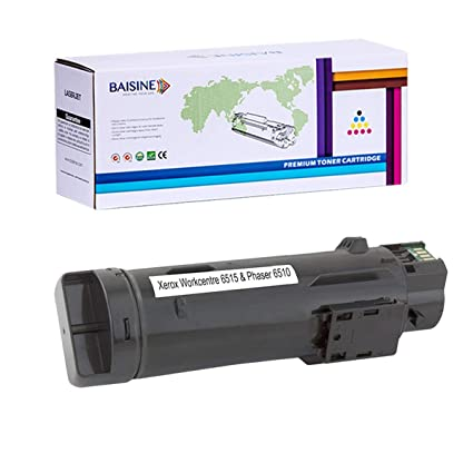 BAISINE 6515 Toner, Compatible 106R03480 Black Toner Cartridges Replacement  for Xerox 106R03480 Xerox WorkCentre 6515, Phaser 6510 6515/N 6515/DN