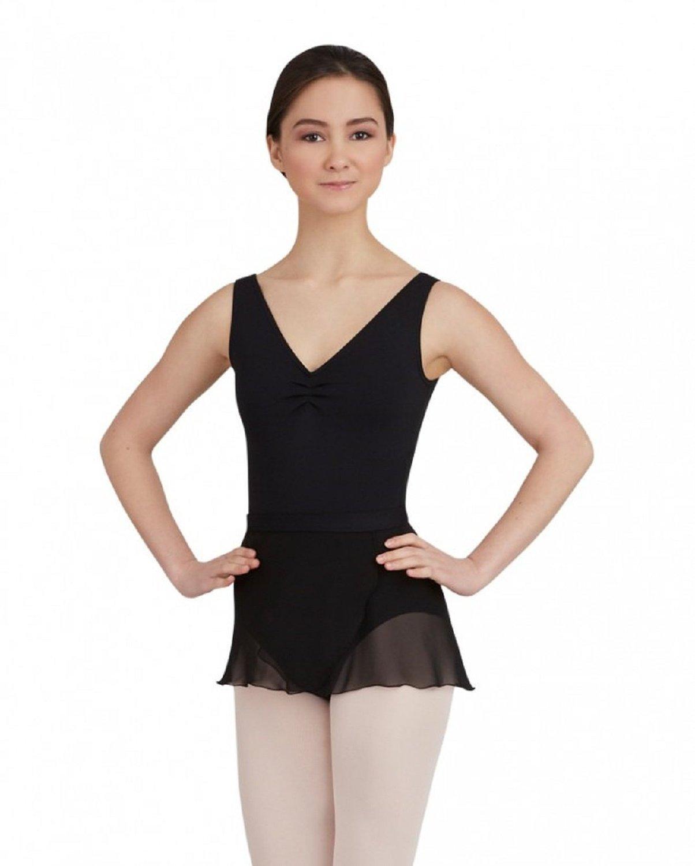 Capezio Women's Wrap Skirt - TC0012 (Petite / Small, Black)