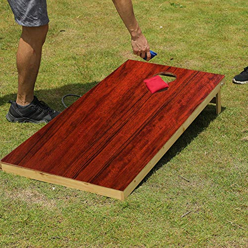 TIANNBU Cornhole Set Regulation Size Waterproof Anti-UV with 8 Bean Bags by TIANNBU (Image #5)