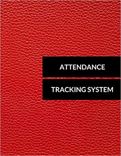 attendance tracking system journals for all 9781520568652 amazon