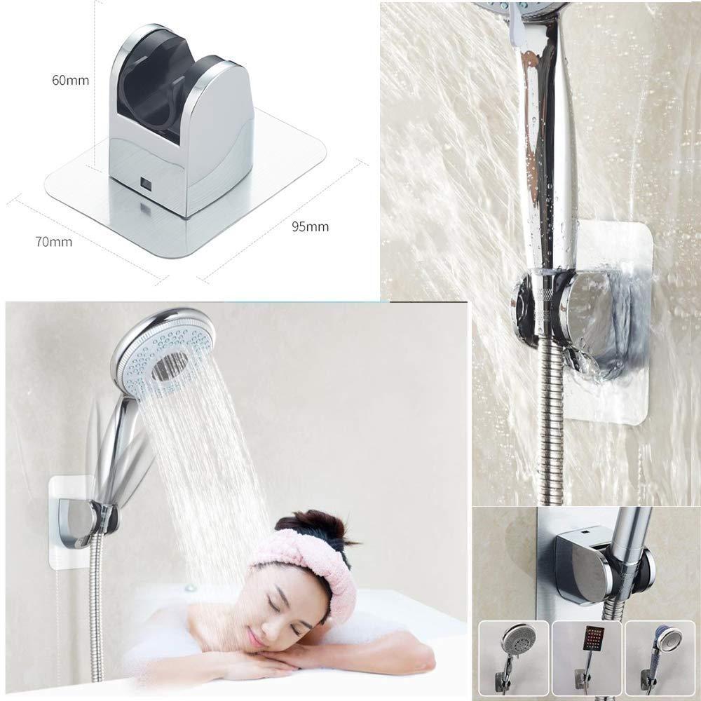 Handheld Shower Spray Head Holder Bracket Bathroom Wall Mount Adjustable SJ
