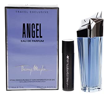 cee04e9b1418 THIERRY MUGLER ANGEL EAU DE PARFUM REFILLABLE STAR WITH PURSE SPRAY 100ML    7.5ML