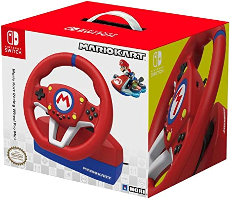 HORI - Volante Mario Kart Pro Mini (Nintendo Switch/PC): Amazon.es: Videojuegos