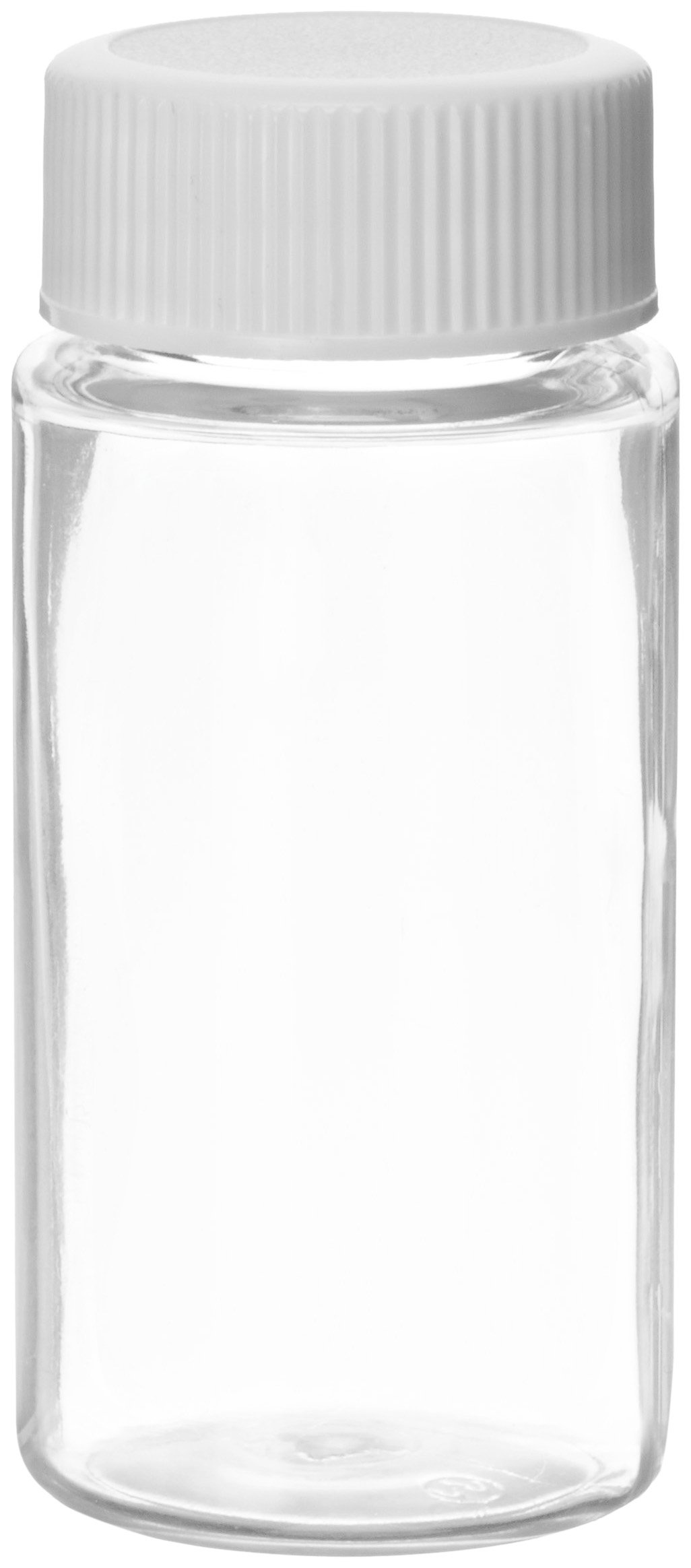 Wheaton 986731 PET 20mL Liquid Scintillation Vial, with Polypropylene Metal Foil Lined Screw Cap Attached (Case of 500) by Wheaton