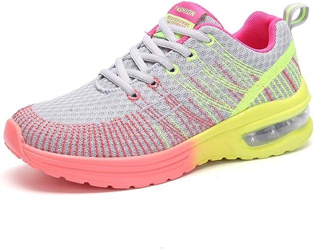Zapatillas de Correr para Mujer Zapatillas Ligeras Que absorben el Choque Zapatillas de Deporte para Correr al Aire Libre para Correr Gimnasio: Amazon.es: Zapatos y complementos