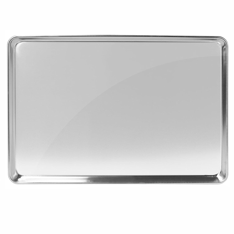 GRIDMANN 15 x 21 Commercial Grade Aluminum Cookie Sheet Baking Tray Pan Three Quarter Sheet 6 Pans GR38-P1521/_6