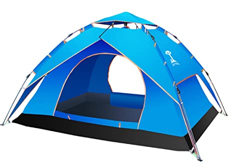 WETOO Waterproof Backpacking Tent Automatic C&ing Instant Tent for C&ing Traveling Hiking  sc 1 st  Amazon.com & Amazon.com : WETOO Waterproof Backpacking Tent Automatic Camping ...
