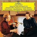 シューベルト:「しぼめる花」の主題による序奏と変奏曲 D.802、ヴァイオリン・ソナタ D.574、幻想曲 D.934