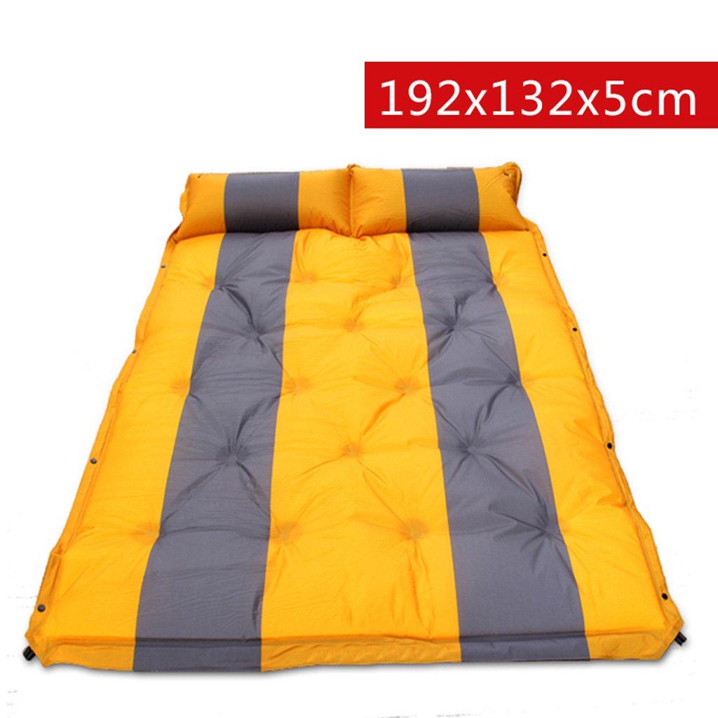 TYJ Picknick-Decken Automatisches Aufblasbares Auflage-Zelt Kann Gespleißte Doppelte Feuchtigkeitsfeste Auflage-Auflage-Matte Sein