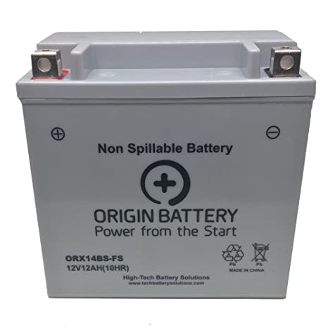 Amazon.com: Kawasaki Ninja ZX-14R Battery, Also Fits ZX-12R ...
