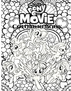 My Little Pony The Movie Coloring Book For Adult