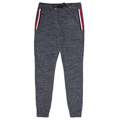 Psycho Bunny Men's Medland French Terry Sweat Pants, Navy, X-Large at Men's Clothing store
