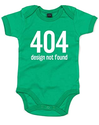 Image: 404 - Design Not Found, Printed Baby Grow | keep your little bundle of joy as comfortable as possible