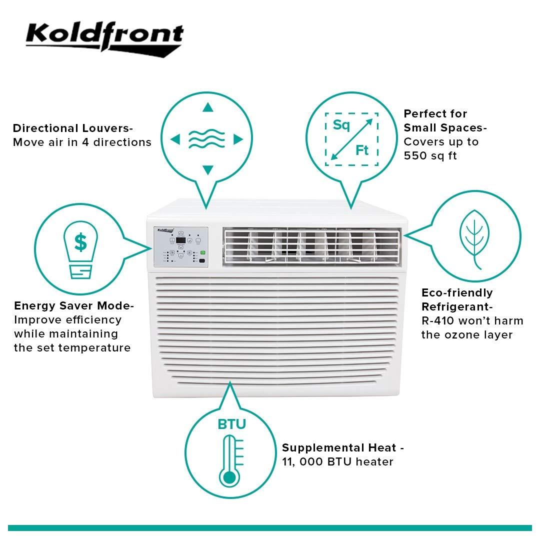 Amazon.com: Koldfront WAC12001W 12,000 BTU 208/230V Heat ... on