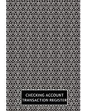 "Checking Account Transaction Register: Checkbook Balance Book, Record Log Book Check Debit Card Register 6"" x 9"""