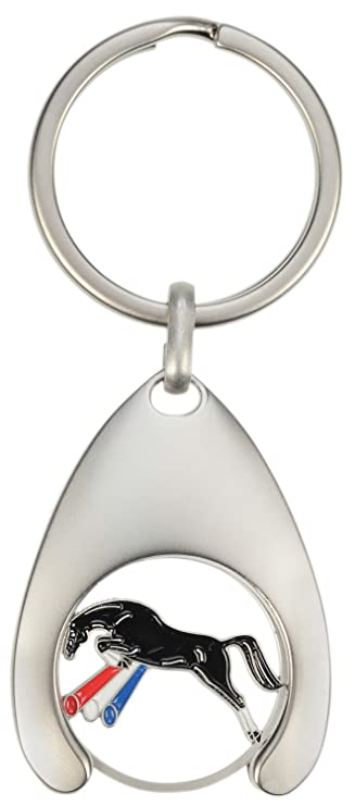 Happy Ross 902094 Head Horse Silhouette Key Ring