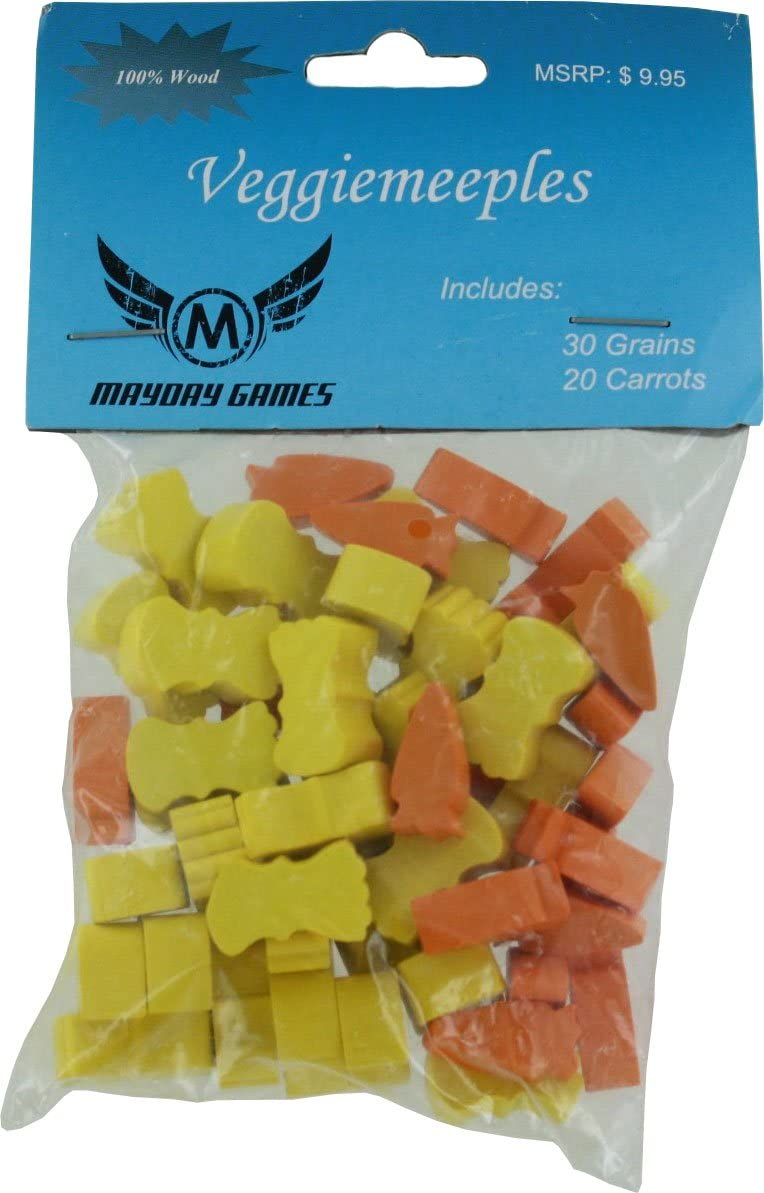 Mayday Games Agricola Veggiemeeples - 30 Grain And 20 Carrot ...