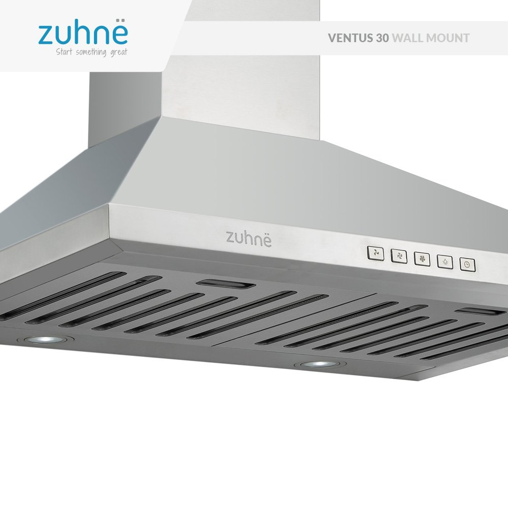 Amazon.com: Zuhne Ventus 30 inch Kitchen Wall Mount Ducted ...