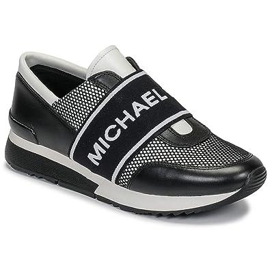 8162dc81821bd Michael MICHAEL KORS MK Trainer Sneaker Damen Schwarz Weiss - 35 - Sneaker  Low