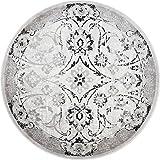 Cheap Home Dynamix Boho Shailene 5'2″ Round Area Rug Silver