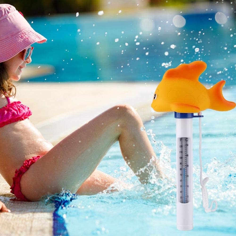 Cartoon Mini Schwimm Wasser Thermometer Wassertemperatur Tester f/ür Kids Swimming Pool Spas Baby Bad Kind dusche