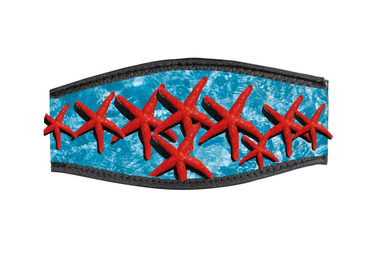 Best divers Neoprene Mask Strap Stars Marine Double Velcro