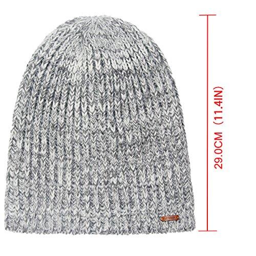 3b264c59d4cb4 LETHMIK Winter Beanie Skull Cap Warm Knit Fleece Ski Slouchy Hat for Men   Women  Mix