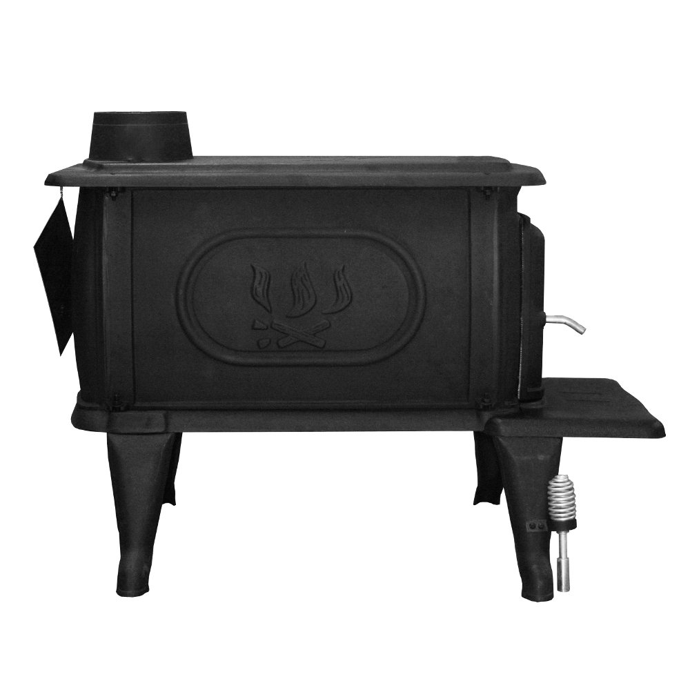 Amazon.com: US Stove 2469E Large EPA Cast Iron Logwood Stove: Home ...