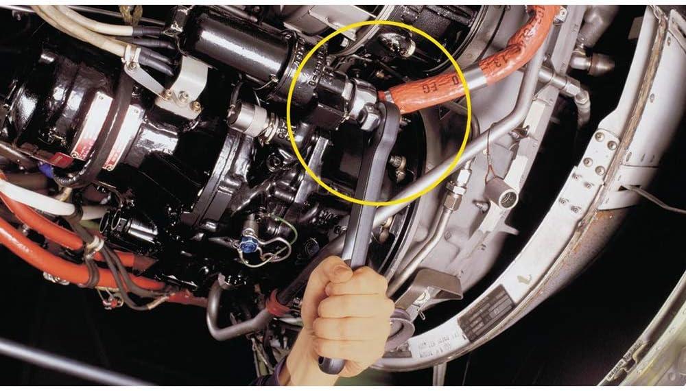 HAZET 848Z-41 Offene Doppel-Sechskant Ringschl/üssel