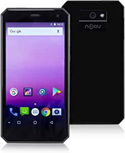 Smartphone Libres, NOMU M6 4G Móviles de 5.2 HD IPS Android 7.0 (Dual Cámara 13MP + 5MP 2GB RAM 16GM ROM con 3000mAh Batería MTK6737T 1.5Ghz Quad Core Huella ...