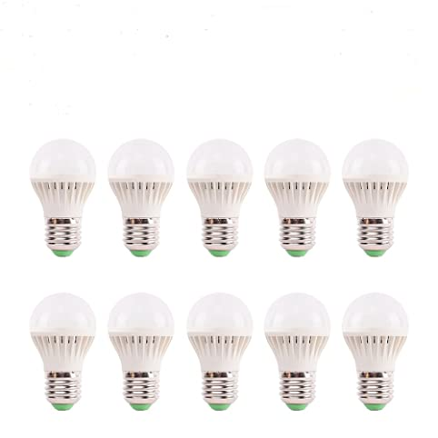 Vander 2W Energy Save LED Light Bulb E27 E26 Lamp, pack of 10(warm ...